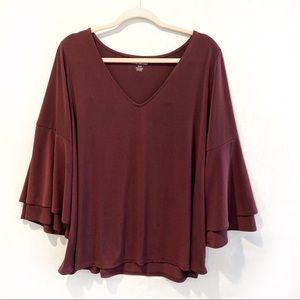 Batwing blouse Plus Size